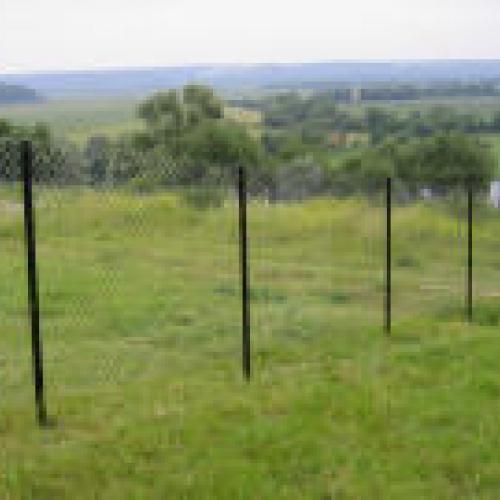 Забор из сетки - рабицы